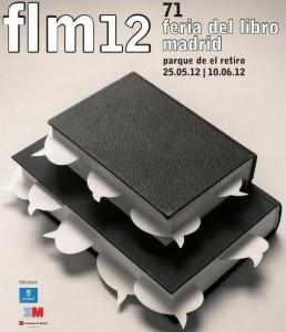 Cartel de la Feria del Libro de Madrid 2012