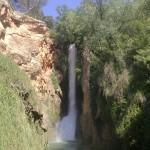 Imagen de la Cola Caballo desde abajo - Monasterio de Piedra