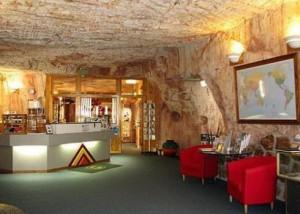 Interior de una mina de Coober Pedy