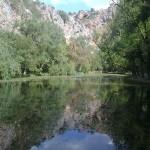 Imagen del Lago del Espejo - Monasterio de Piedra