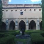 Vista exterior de las viviendas de los monjes del Monasterio de Piedra