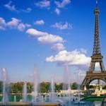 Imagen del parque de la Torre Eiffel - Paris