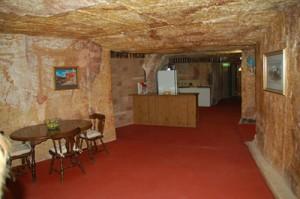 Interior de una mina d Coober Pedy