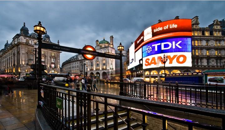 Picadilly Circus de Londres