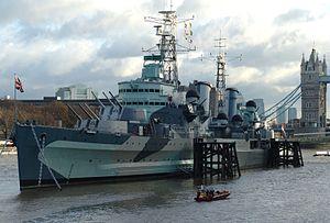 HMS Belfast de Londres