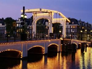 Puente Magere Brug en Amsterdam