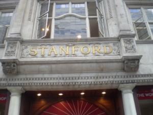 Entrada de la librería Stanfords