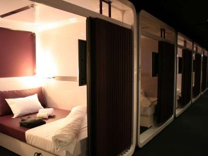 Habitación de un hotel First Cabin