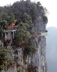 Puente de Vidrio China