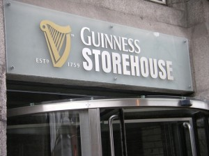 Entrada de Guinness Storehouse