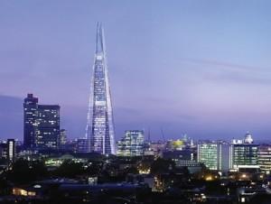 Edificio The Shard en Londres