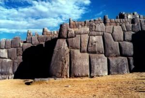 Las ruinas de Sacsayhuaman