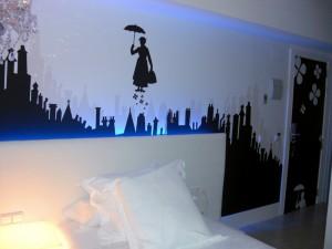 Dormir de Cine, habitación Small