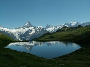 Lago Bachalpsee en Suiza
