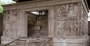 Ara Pacis en Roma