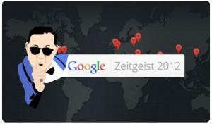 Palabras más buscadas en Google Zeitgeist 2012