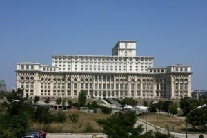 Palacio del Pueblo en Bucarest
