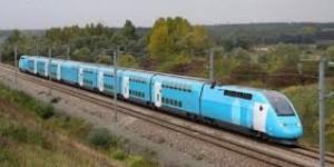 tren bajo coste Noruega