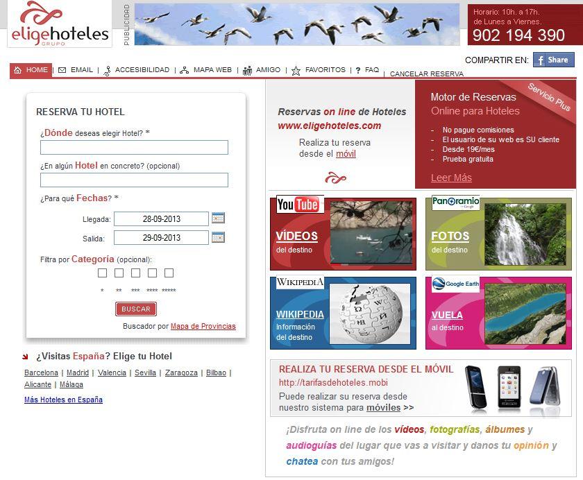 Eligehoteles.com